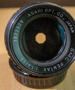 SMC Pentax 50mm F1.4 PK-mount