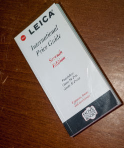 Leica International Price Guide - Hove Collecters Books 7th edition