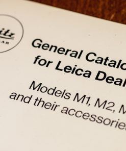 Leitz-Leica - general catalogue for leica dealers 1961