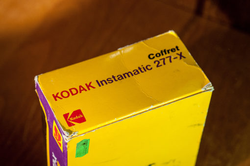 Kodak instamatic 277-x (in Original Box)