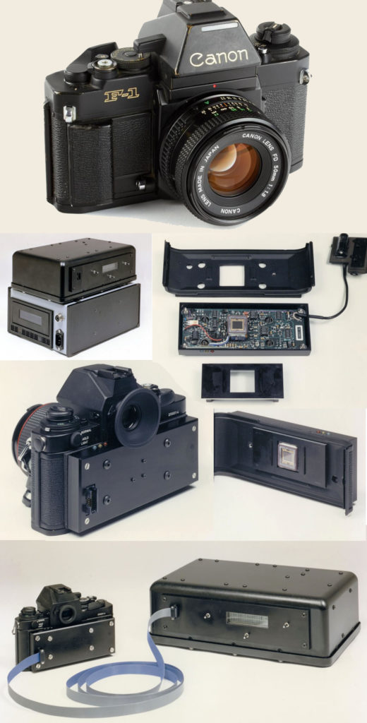 Canon F1 Digital back | Electro-Optic Camera (1988)