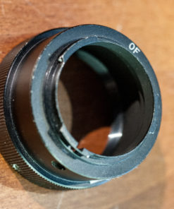 T2 adapter for Olympus Pen-F cameras