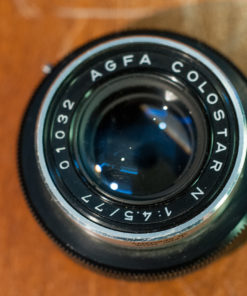 Agfa Colorstar n F4.5 77 MM bellows lens