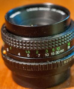 Cosina Cosinon-s 50mm F2.0 (PK mount)