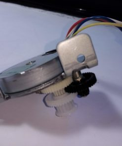 Geared stepping motor taken from scanner
