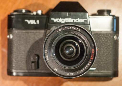 Voigtlander VSL1 + 28mm Color scoparex + 135mm Color Dynarex