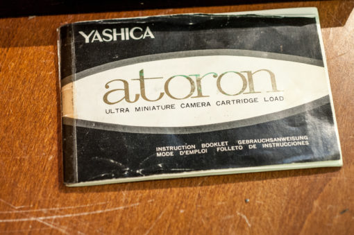 Yashica Atoron original gift box (no camera)