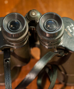 Amber coated Optics 7x50 binoculars Grey