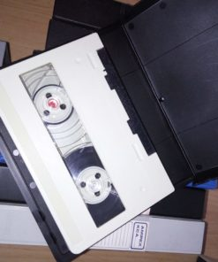 7 U-matic and 4 U-matic S videotapes