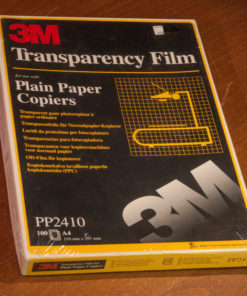 3M Transparency Film A4 PP2410