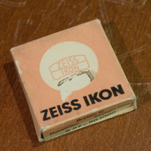 Zeiss Ikon S27mm skylight filter in original box