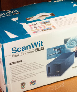 Acer Scanwit 2720S, 35mm negative and slide scanner