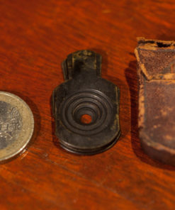 Small Waterhouse stops for brass lenses
