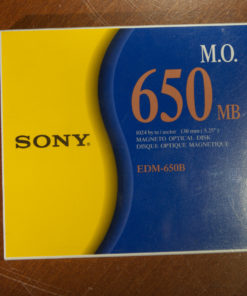 "Sony 5,25"" MO Disk 650MB, Data Cartridge(new)"