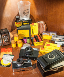 Kodak camera and film collection