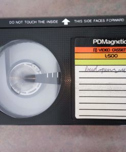 11 betamax tapes with films of Bud Spencer