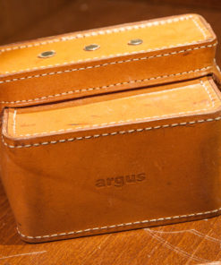 Argus New old Stock Leather camera bag