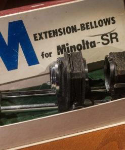 Minolta Extension bellows - SR with slide copier