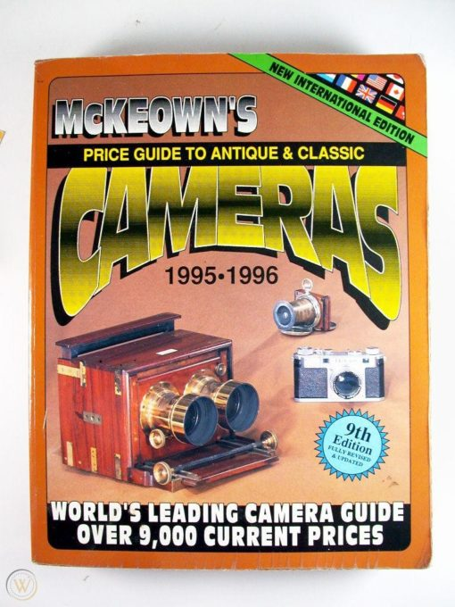 McKeown's Price Guide to Antique and Classic Cameras, 1995/1996