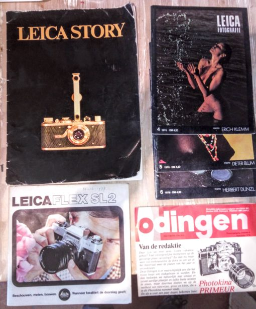 Leica Story + magazines + manual SL2