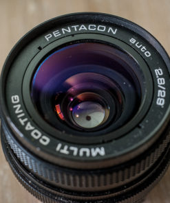 Pentacon auto 29mm F2.8 Multi coating